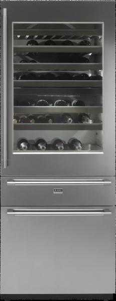 RWF2826S-Вбудований комбінований винний холодильник