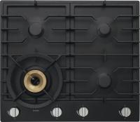 HG1666AB-Газова поверхня Газова варильна поверхня з 3 гібридними конфорками вок A+ і 1 конфоркою Super Flex Wok™ і автоматичним підпалюванням