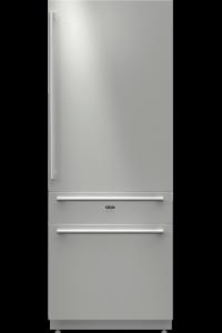 RF2826S-Вбудований комбінований холодильник Вбудований холодильник і морозильна шафа об'ємом 293/79л, A+ і автоматичний льодогенератор