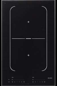 HI1355G-Індукційна поверхня Індукційна варильна поверхня з 2 зонами нагрівання, функцією Bridge Induction™ і автоматичним виявленням посуду