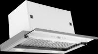 CO4627S-Вбудовувана витяжка Телескопічна витяжка з лакованого металу, 4 швидкості вентилятора, функція таймера