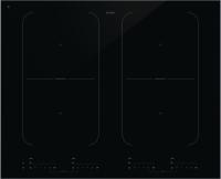 HI1655G-Індукційна поверхня Індукційна склокерамічна варильна поверхня чорного кольору з 4 зонами нагрівання, програмою автоматичного кипіння та функцією Bridge Induction™