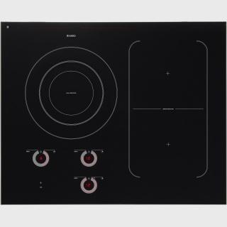 HI1694G-Індукційна поверхня Індукційна склокерамічна варильна поверхня чорного кольору з 3 зонами нагрівання та функцією Bridge Induction™