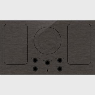 HI1994M-Індукційна поверхня Індукційна варильна поверхня з матової емалі чорного кольору, з 5 зонами нагрівання та функцією Bridge Induction™