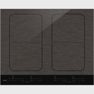HI1655M-Індукційна поверхня Індукційна варильна поверхня з матової емалі чорного кольору, з 4 зонами нагрівання, об'єднаними функцією Bridge Induction™