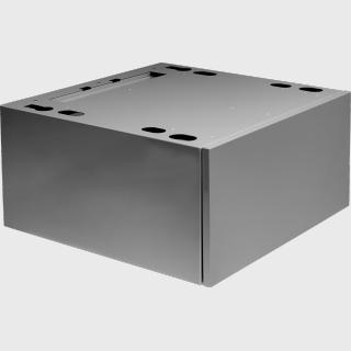HPS5323S Hidden Helpers™ - висувний ящик-підставка для миючих засобів з висувною полицею (колір - нержавіюча сталь)
